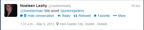 Tweet from @noeleenleahy
